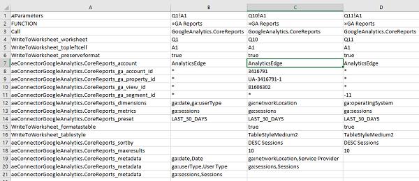 User-editable query worksheet